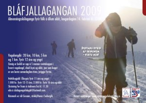 Bláfjallagangan 2009